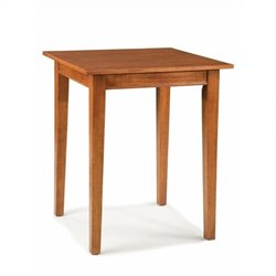 Home Styles Arts & Crafts Solid Wood Pub Table in Cottage Oak