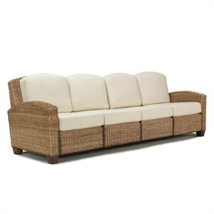 4 Section Sofa in Honey