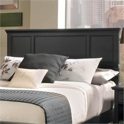 Home Styles Bedford Full/Queen Panel Headboard in Ebony