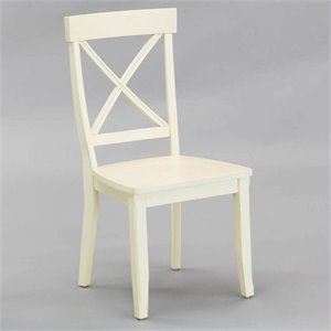 Dining Chair in Antique White (Set of 2)