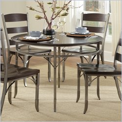 Home Styles Bordeaux Round Dining Table in Birch