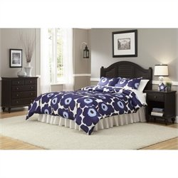 Home Styles Bermuda Queen Bedroom Set in Espresso