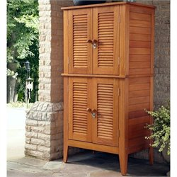 Home Styles Montego Bay Four Door Multi-Purpose Storage Cabinet