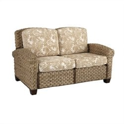 Home Styles Cabana Banana II Love Seat in Honey Finish