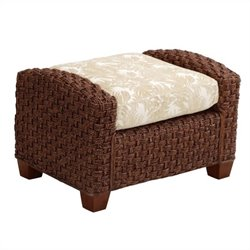 Home Styles Cabana Banana II Ottoman in Cinnamon Finish