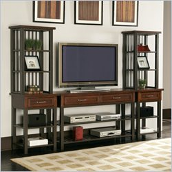 Home Styles Cabin Creek 3 Piece Entertainment Center