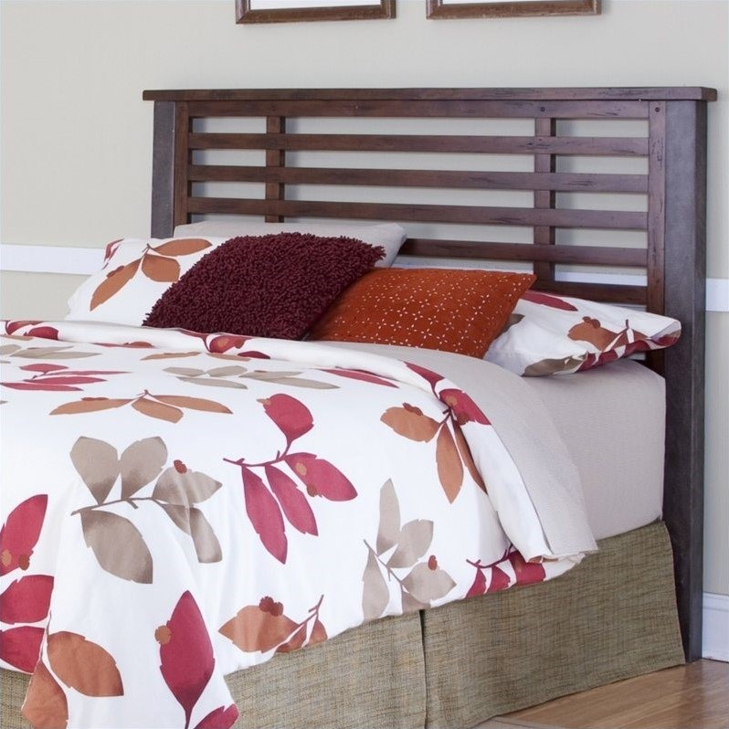 Slat Headboard in Chestnut
