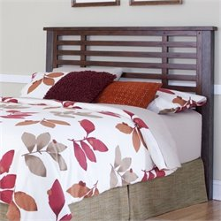 Home Styles Cabin Creek Slat Headboard in Chestnut