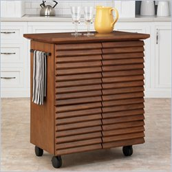 Home Styles Cascade Louvred Kitchen Cart