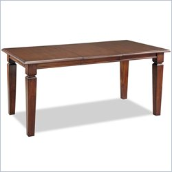 Home Styles Aspen Rectangular Dining Table Finished in Rustic Cherry