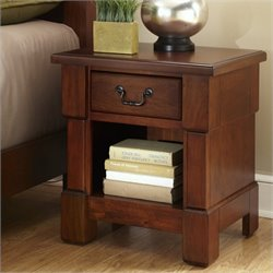 Night Stand in Rustic Cherry