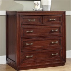Home Styles Duet Drawer Chest in Cherry Finish