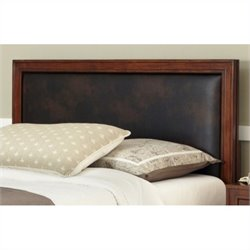 Home Styles Duet Queen Panel Headboard in Brown - Queen - Full