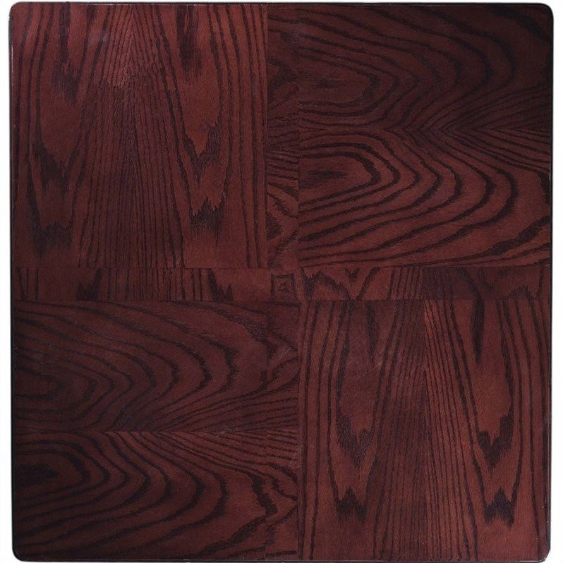 Home Styles Furniture Solid Hardwood Pub Table in Cherry Finish