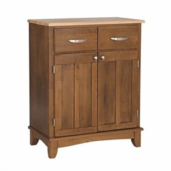 Home Styles Cottage Oak Buffet with Natural Wood Top