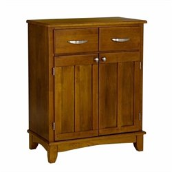 Home Styles Furniture Wood Buffet Server in Cottage Oak