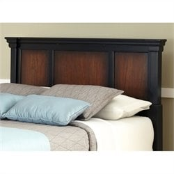 Home Styles Aspen Panel Headboard in Black Cherry