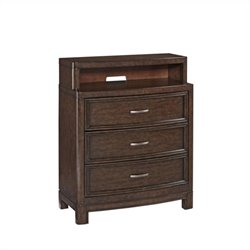Home Styles Crescent Hill Media Chest