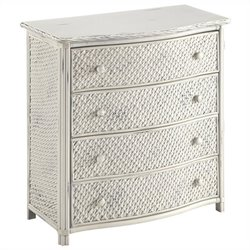 Home Styles Marco Island Drawer Chest in White