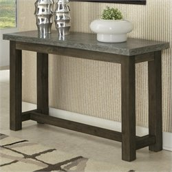 Console Table in Brown and Gray