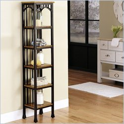 Home Styles Modern Craftsman Six Tier Tower in Oak and Brown