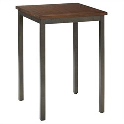 Bistro Table in Multi-step Chestnut