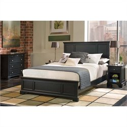 Home Styles Bedford Bed Set in Black