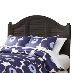 Home Styles Bermuda King Panel Headboard in Espresso