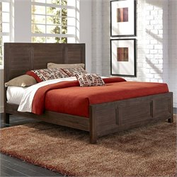 Home Styles Barnside Bed in Weathered Aged Barnside - King