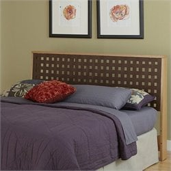 Home Styles The Rave Slat Headboard in Blonde