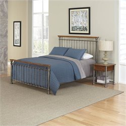 Home Styles The Orleans Bed and Night Stand - Queen