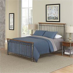 Home Styles The Orleans Bed and Two Night Stands - Queen