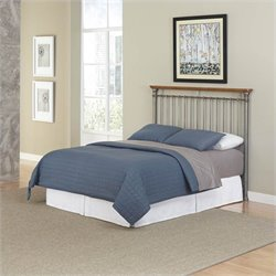 Home Styles The Orleans Spindle Headboard in Gray