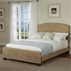 Home Styles Cabana Banana Bed Honey Finish - King