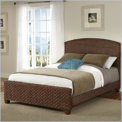 Home Styles Cabana Banana Bed Cinnamon Finish - Queen