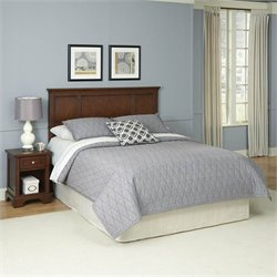 Home Styles Chesapeake Headboard and Night Stand - Queen