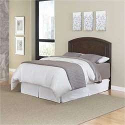 Home Styles Crescent Hill Panel Headboard in Espresso