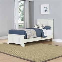 Home Styles Naples Twin in White