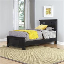 Home Styles Bedford Twin in Black