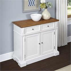 Home Styles Americana Buffet in White Oak