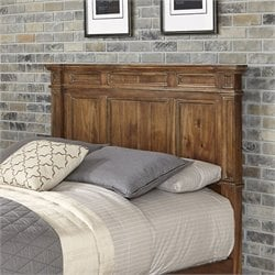 Home Styles Americana Panel Headboard in Natural - Full-Queen