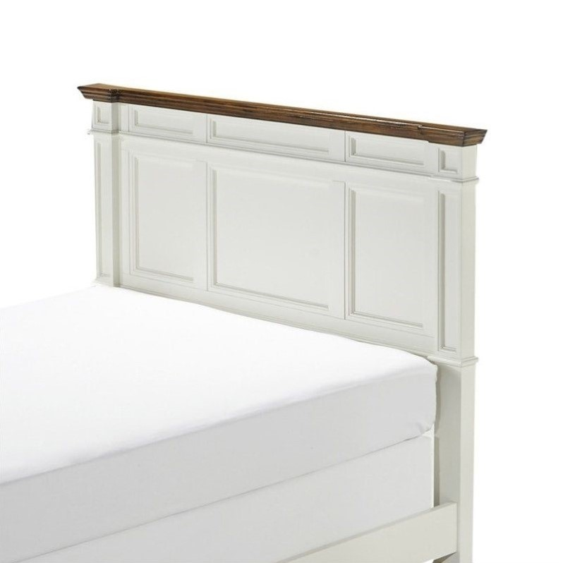 28 white panel headboard home styles naples king panel head