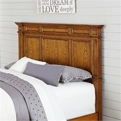 Home Styles Americana Panel Headboard in Oak - Full-Queen