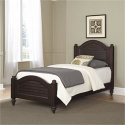 Home Styles Bermuda Wood Twin Bed in Espresso