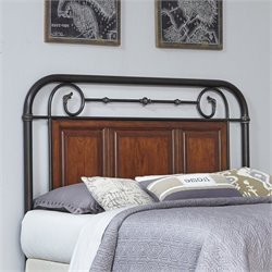 Home Styles Richmond Hill Metal Headboard - King-California King
