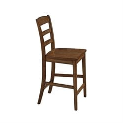 Home Styles Monarch Counter Stool in Oak