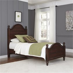 Twin Bed in Aged Bourbon