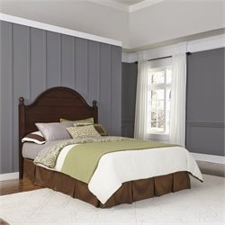 Home Styles Country Comfort Full or Queen Headboard in Aged Bourbon