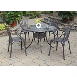 5 Piece Dining Set in Taupe