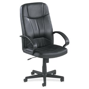 Lorell Chadwick Executive Leather High-Back Chair